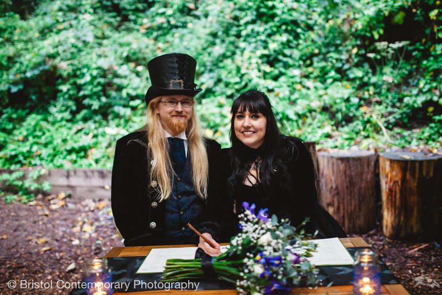 Arnos Vale Outdoor Ceremony