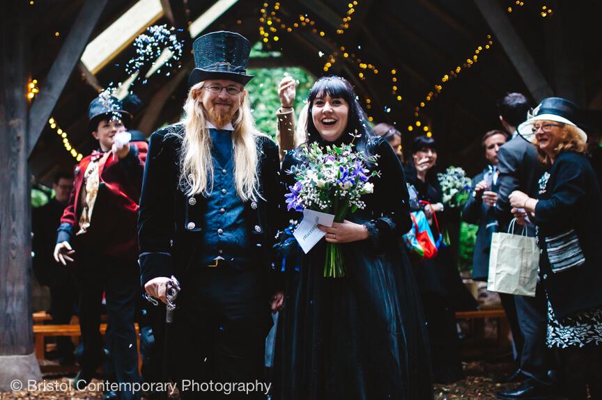 Gothic Wedding Photography