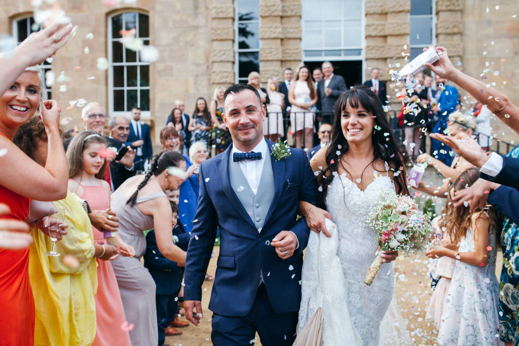 Wedding Photography at Kings Weston House