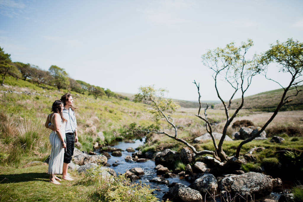 Engagement shoot on Dartmoor