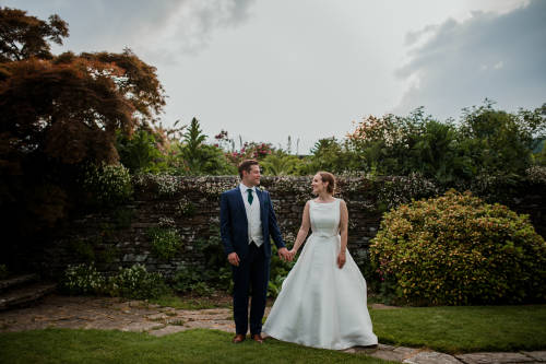 wedding at Hestercombe Gardens