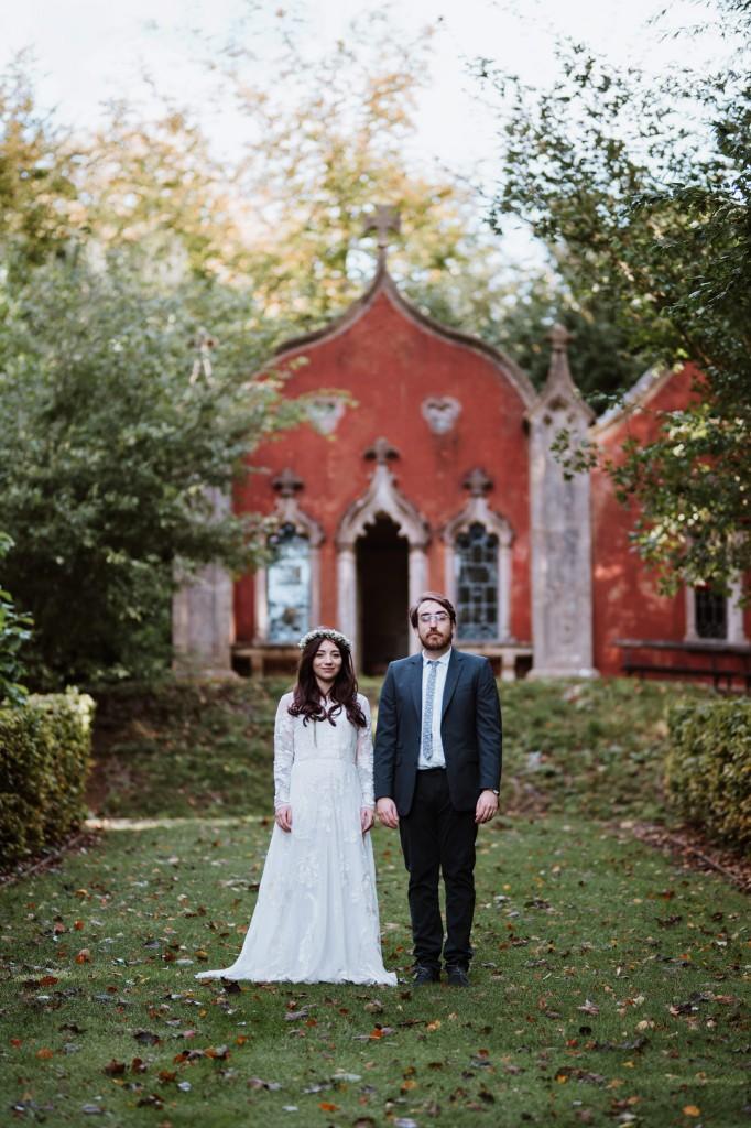 Rococo gardens painswick wedding venue stroud wedding photographer