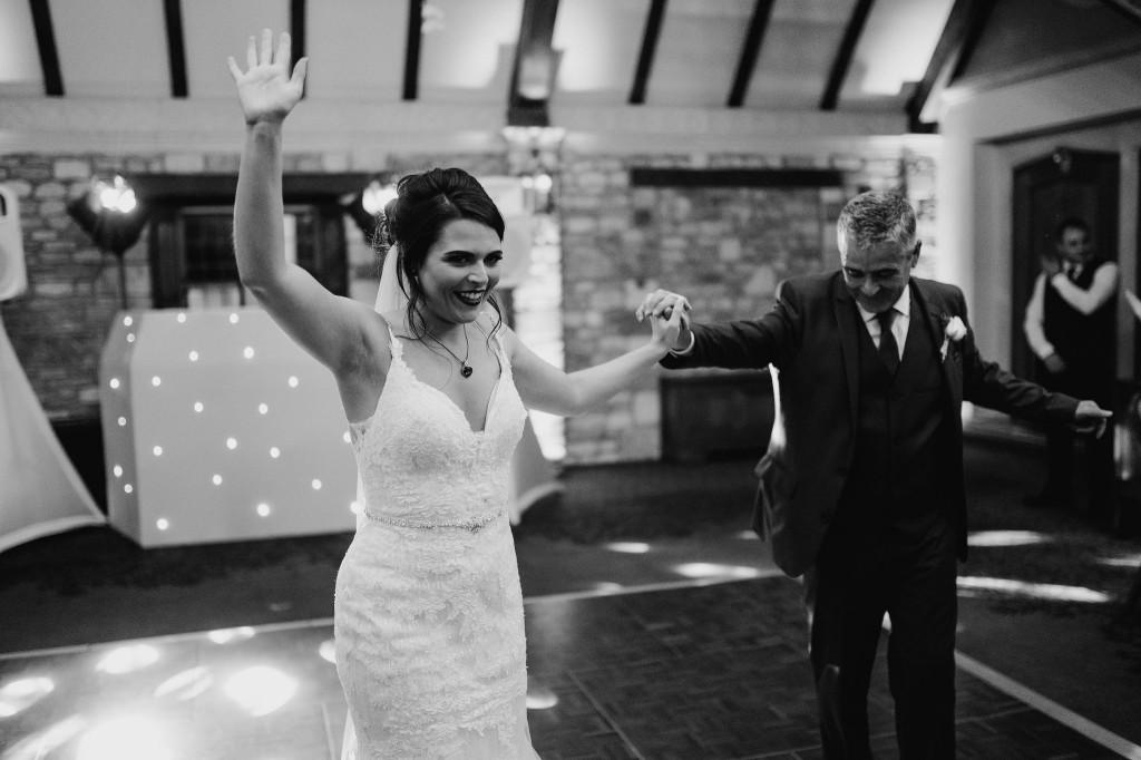 bride and father of the bride dance