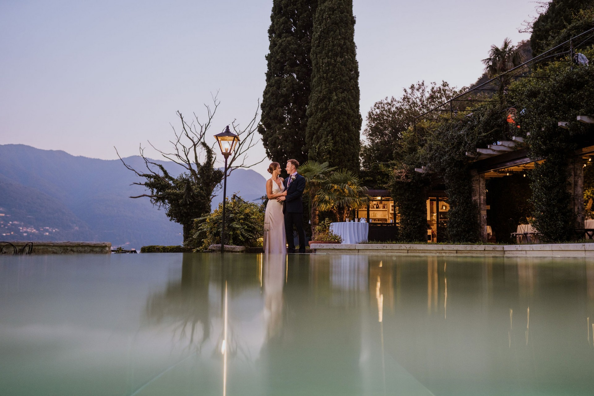 bride groom lake como wedding photography
