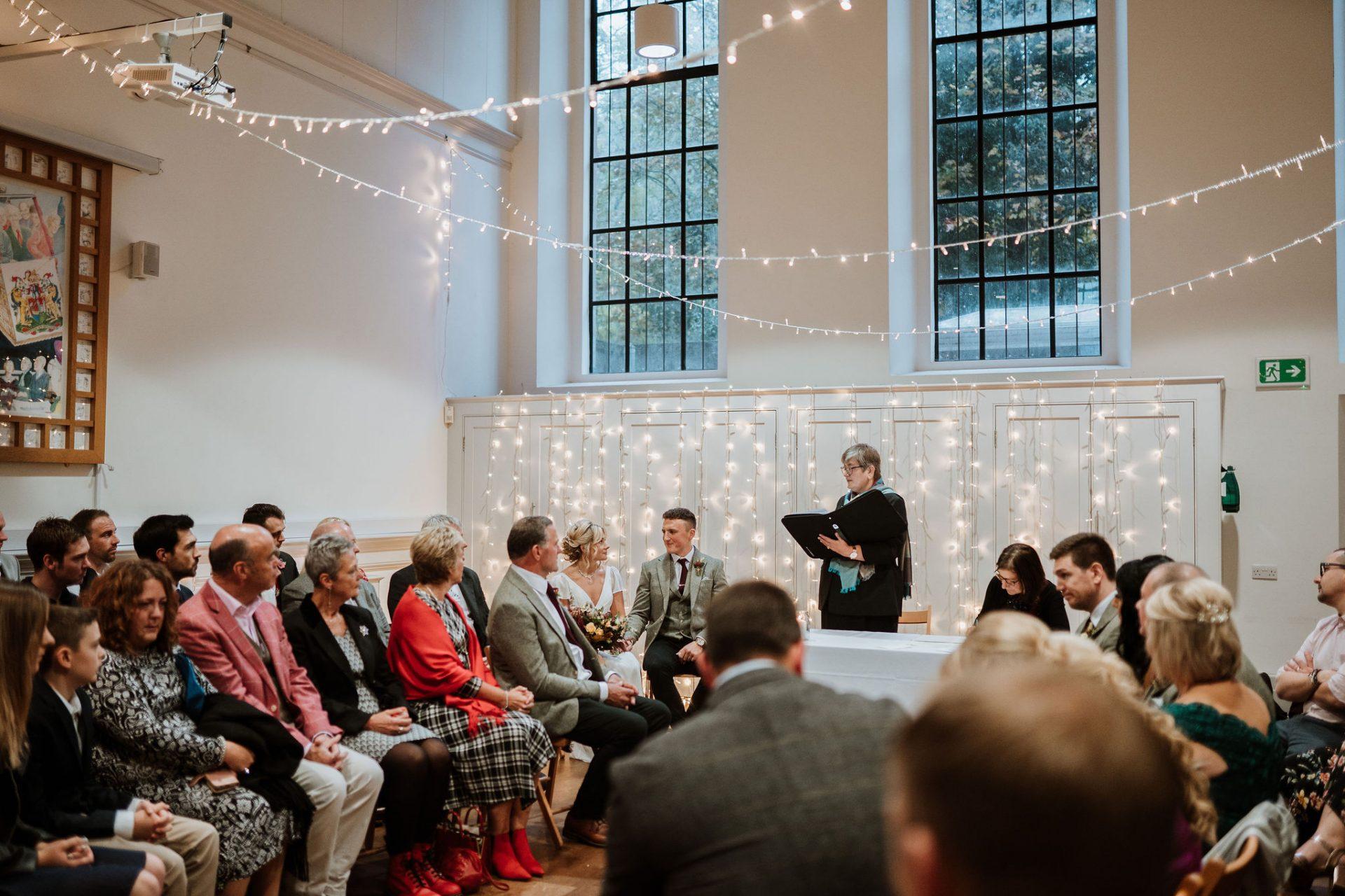 wedding ceremony spielman centre arnos vale