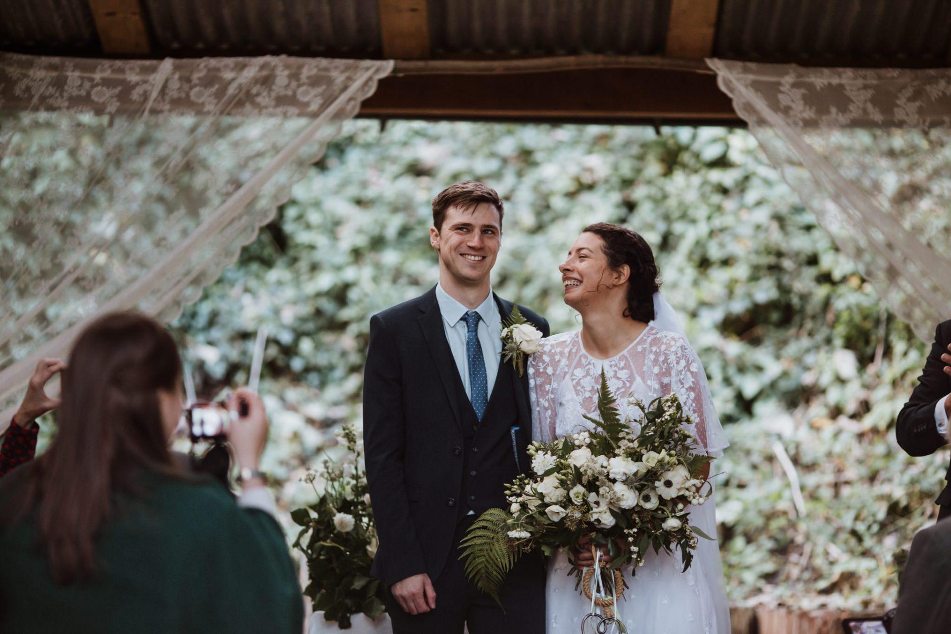 wedding ceremony underwood centre arnos vale