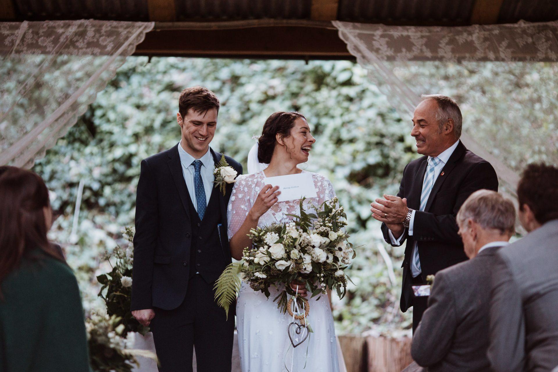 marriage certificate wedding ceremony underwood centre arnos vale