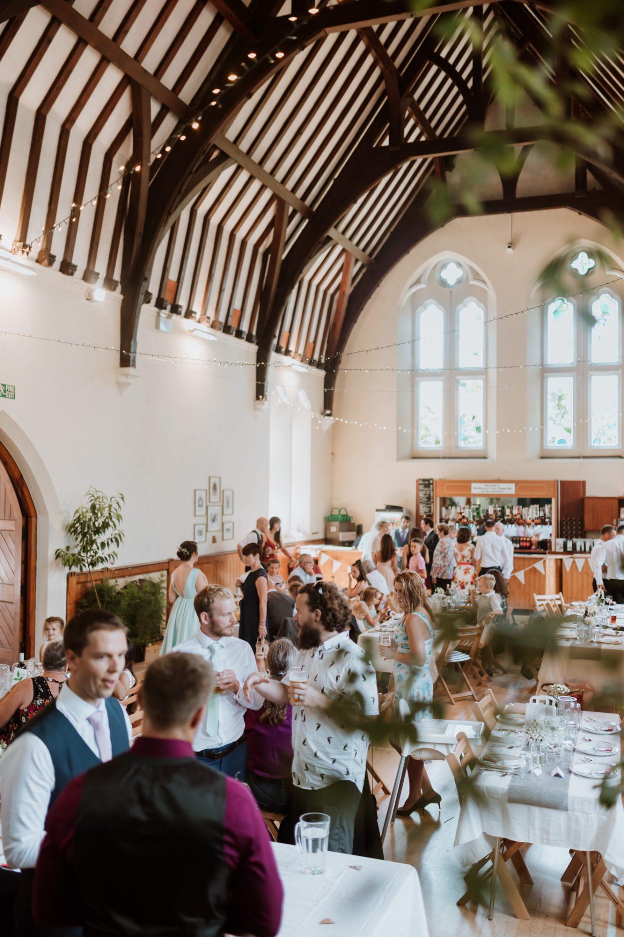 westbury on trym village hall wedding