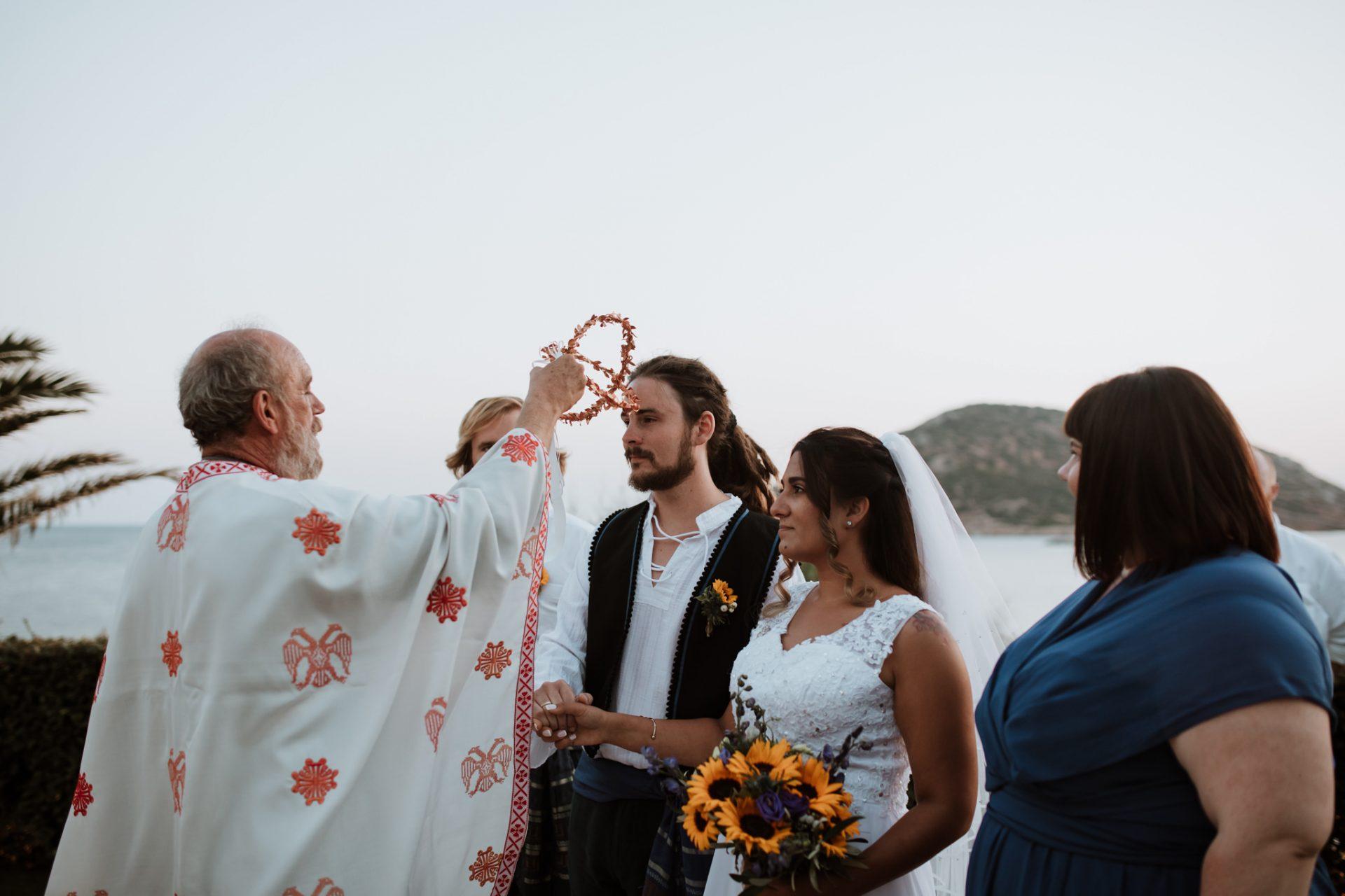 wedding crowns greek orthodox wedding ceremony