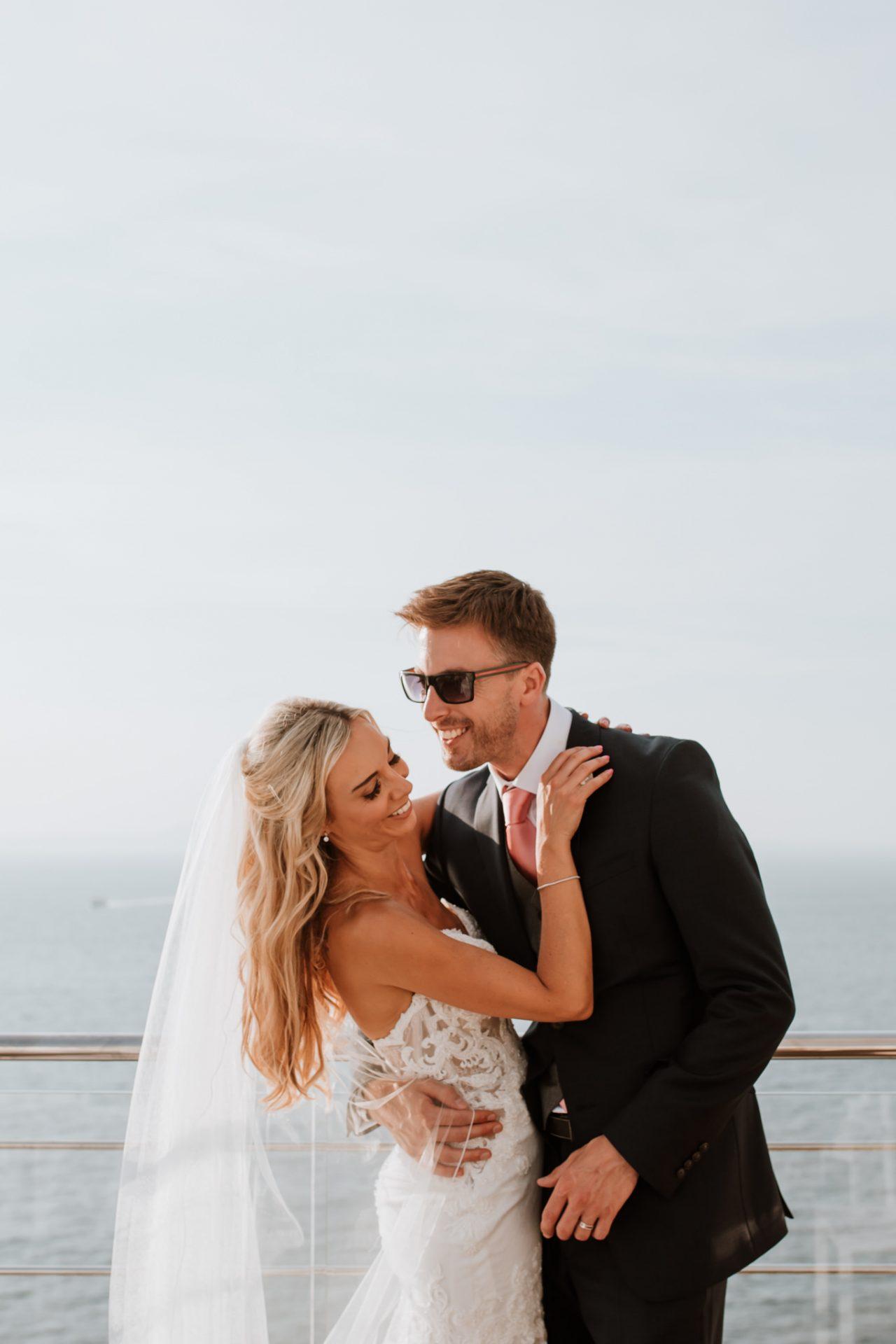 bride and groom wedding photo hotel mediterraneo sorrento