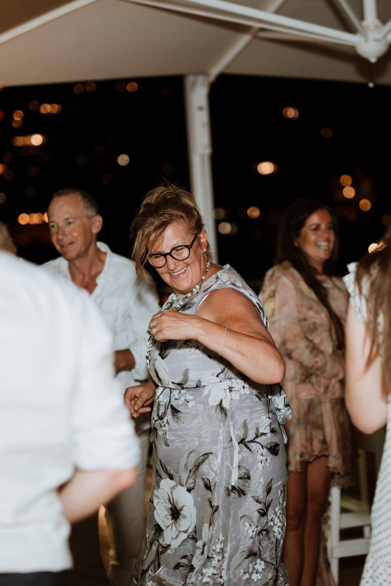 evening reception wedding guests dancing hotel mediterraneo sorrento