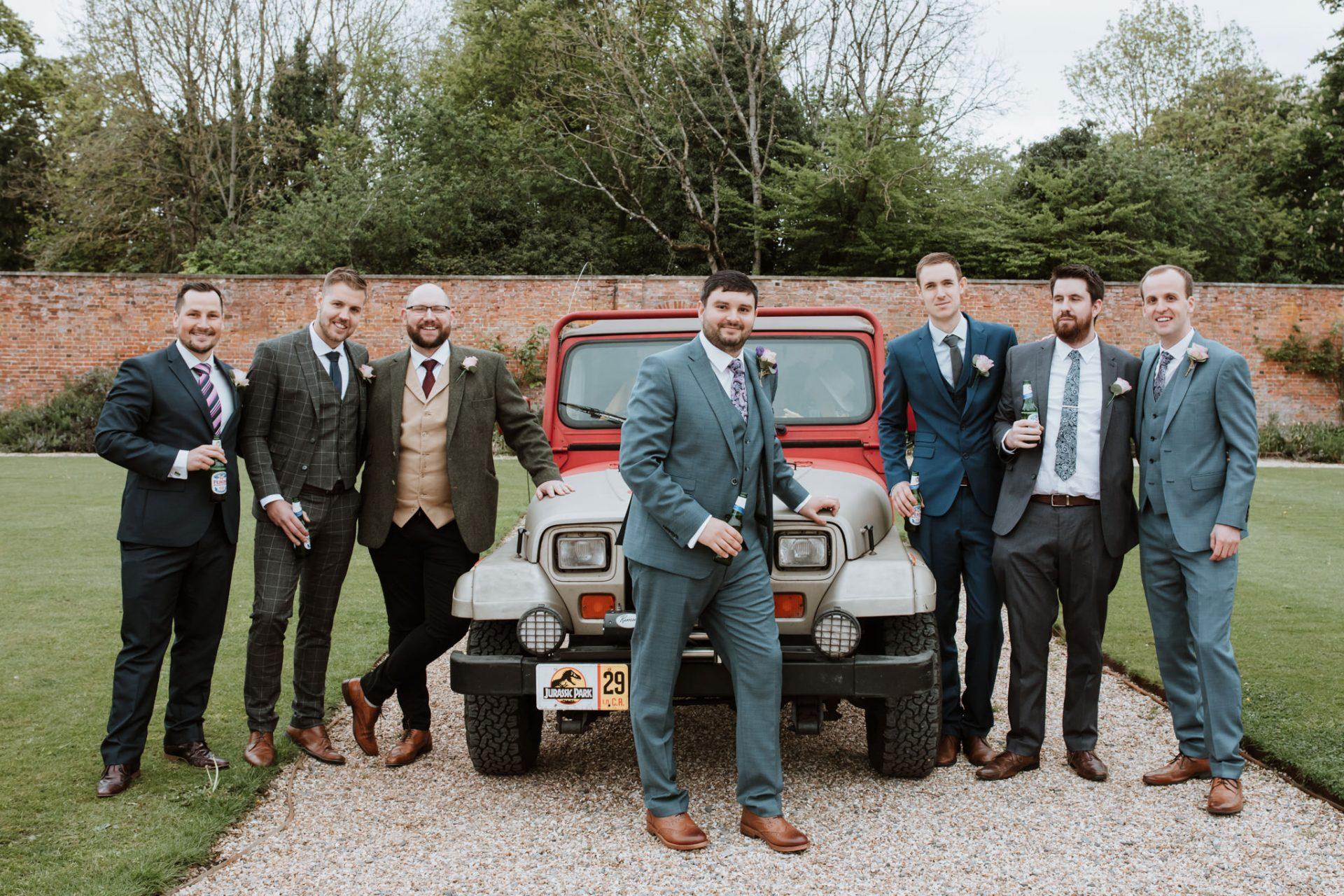 groomsmen jurassic park