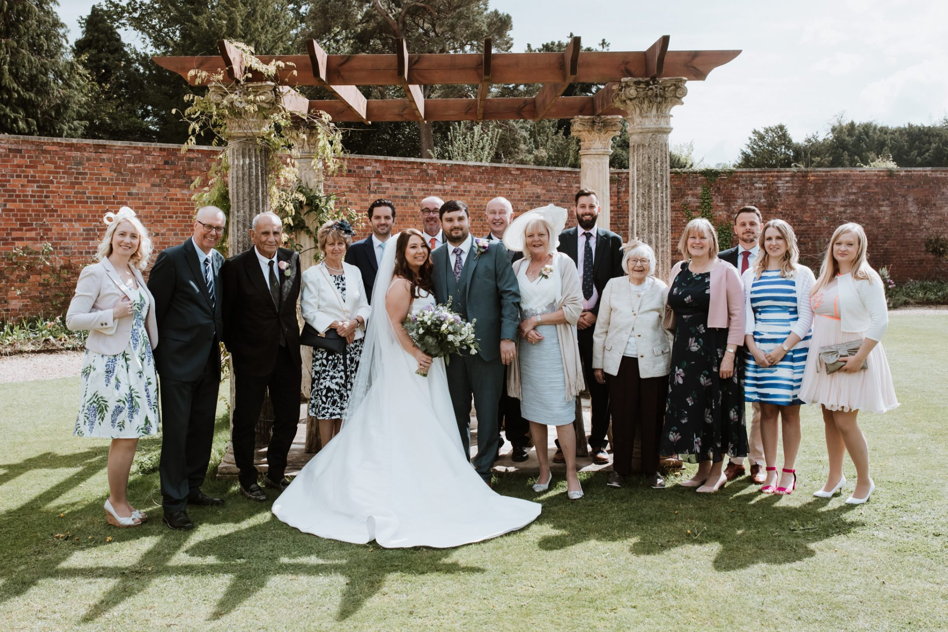 group family wedding photo elmhay park