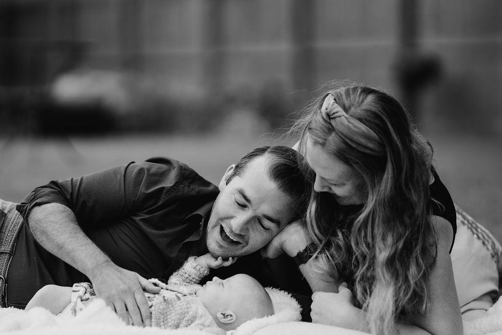 new born family photo shoot taunton